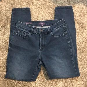 NYDJ denim blue jeans